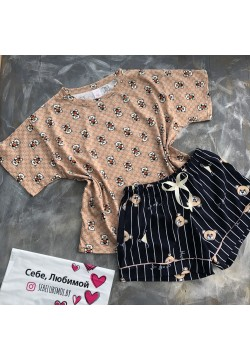 Хлопковая пижама - 2208